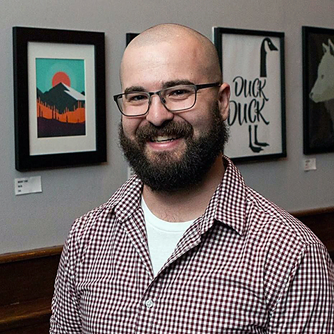 Brad Mortenson, kickass designer and illustrator.